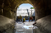 Repair of the CG Tunnel & Upper Chamber